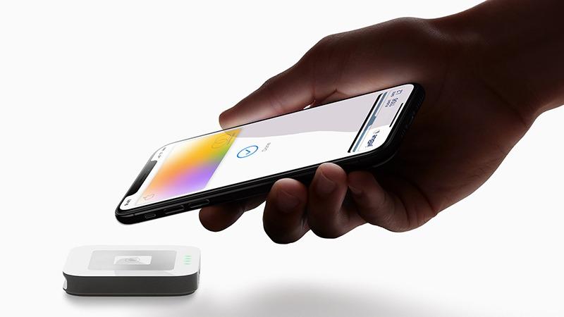 Pago con tarjeta de mano Apple Iphonexs 032519