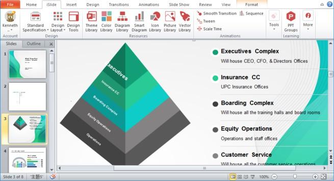 presentación de diapositivas