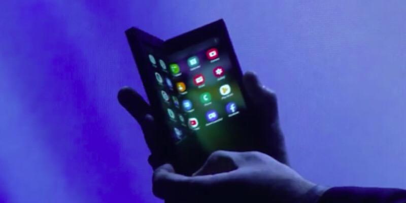 Samsung hizo una vista previa de su teléfono plegable sin fecha de lanzamiento