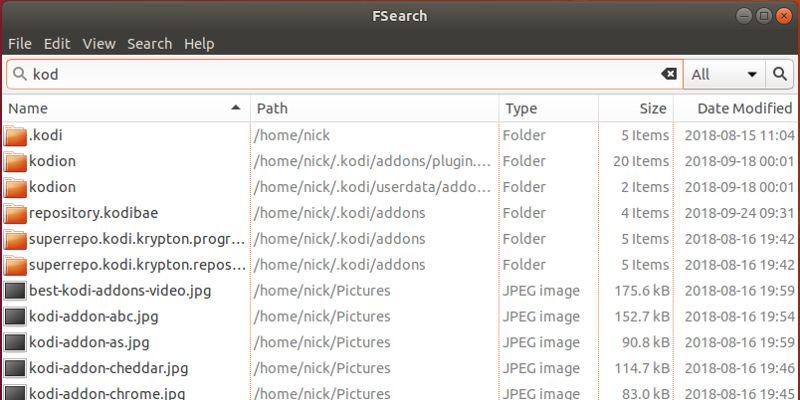 Cómo usar FSearch para encontrar archivos rápidamente en Linux