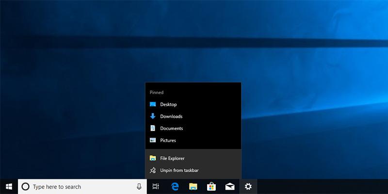 Cómo desactivar artículos recientes y lugares frecuentes en Windows diez