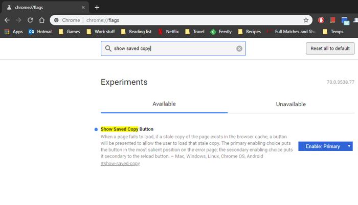 enable-offline-mode-google-chrome-show-Saved-copy