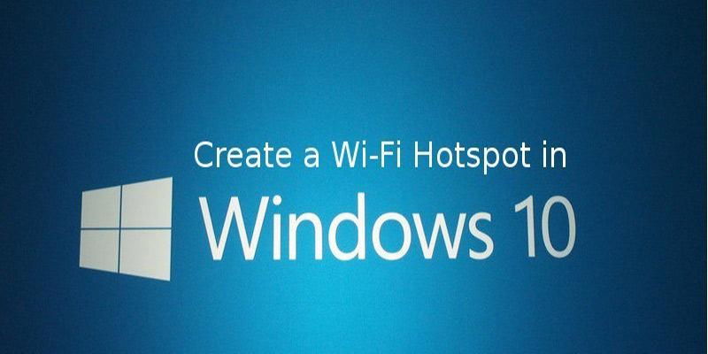 Como vuelve Windows 10 en un punto de acceso Wi-Fi portátil