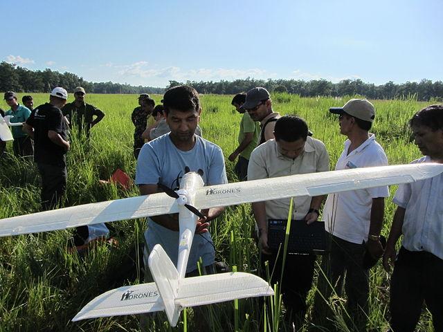 preservación de drones