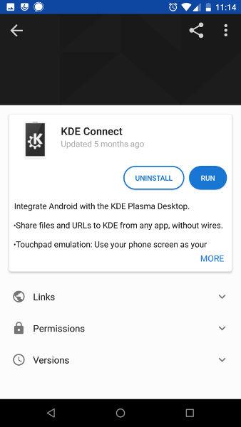 Instale KDE Connect en Android
