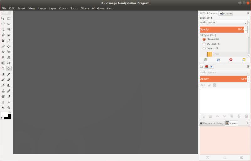 Tema de icono de GIMP con Photoshop