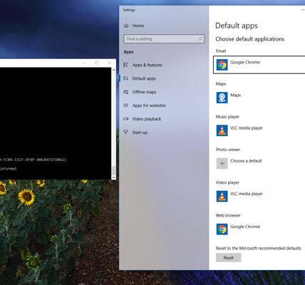 Cómo cambiar, restablecer y reemplazar asociaciones de archivos en Windows diez