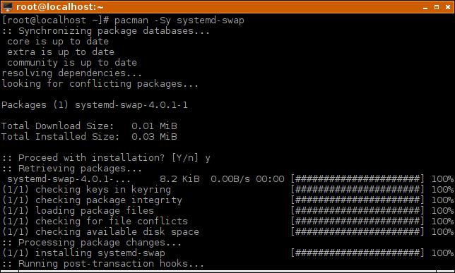 zswap-pacman-install-systemd-swap