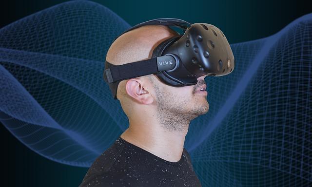 peluca de realidad virtual