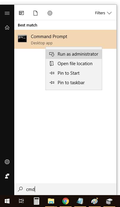 símbolo del sistema virtualbox como administrador