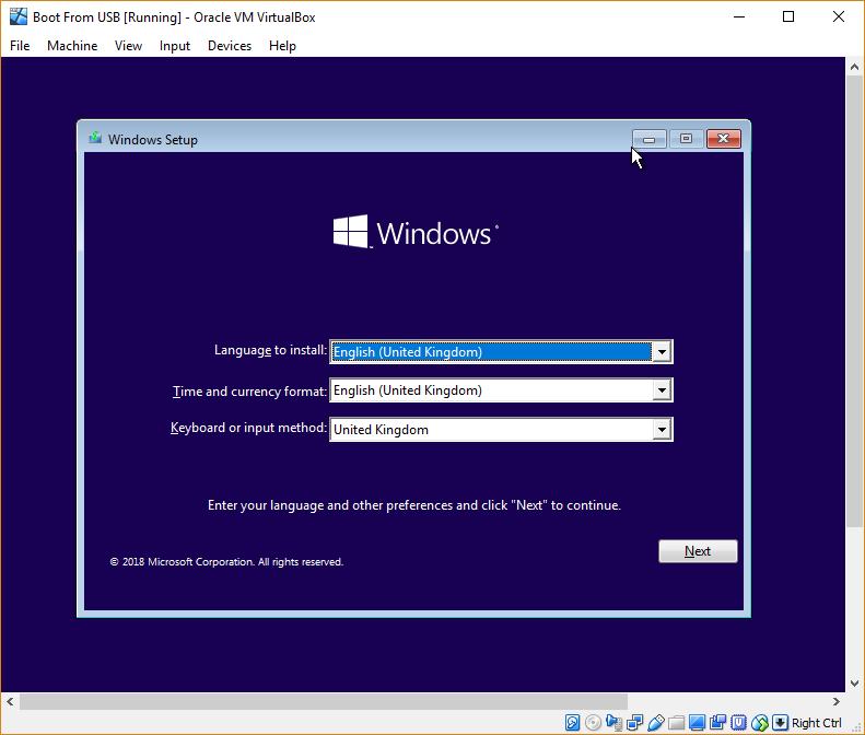 virtualbox-boot-windows-setup-from-usb