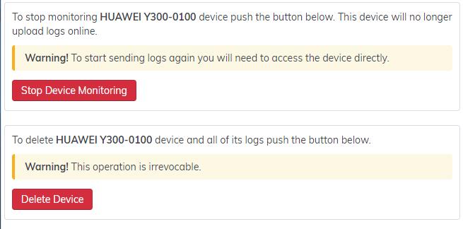 dispositivo de monitoreo hoverwatch-stop