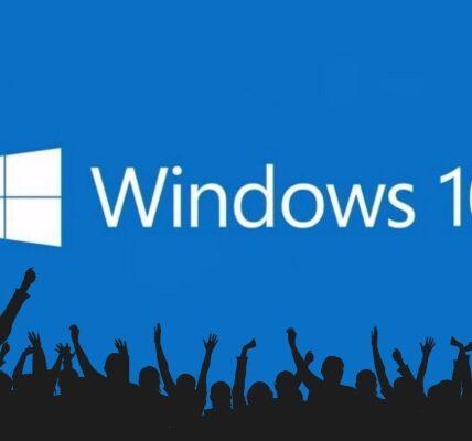 Windows 10 Establecer para reemplazar Windows 7 en número de usuarios