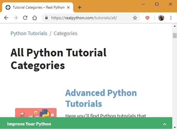 Tutoriales avanzados de Python real