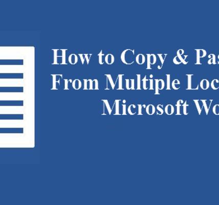 Cómo copiar y pegar múltiples selecciones de texto en Microsoft Word