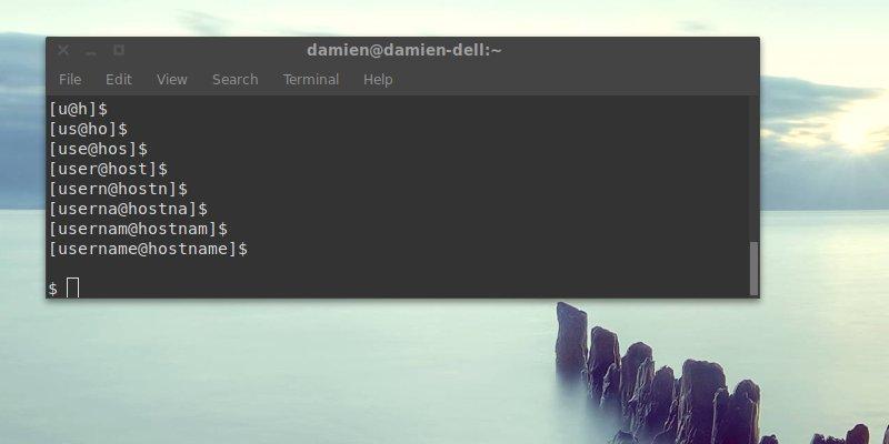 Cómo eliminar el nombre de usuario y el nombre de host en la línea de comandos de la terminal [Quick Geek Tricks]