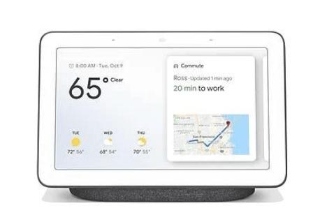 pantallas de smart-google-home-hub