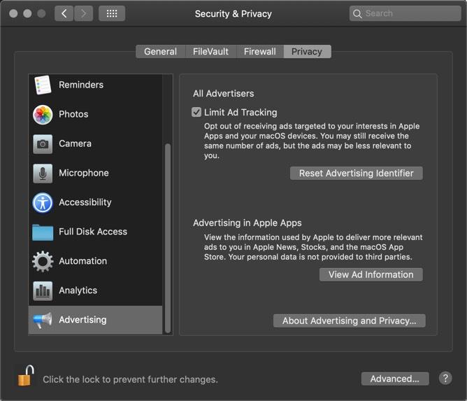 Macos-seguridad-privacidad-permisos-publicidad