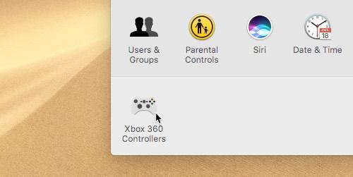 conectar-xbox-one-controller-to-mac-controller-settings