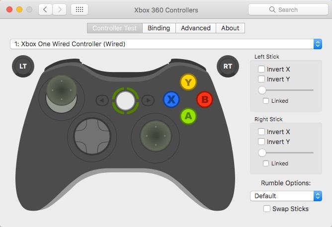 conectar-xbox-un-controlador-a-mac-controlador-prueba-de-conexión