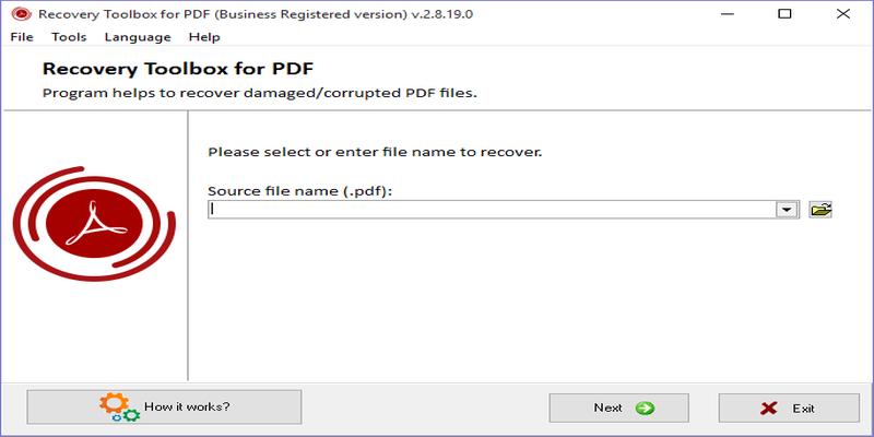 Caja de herramientas de recuperación de PDF: una manera fácil de reparar archivos PDF dañados