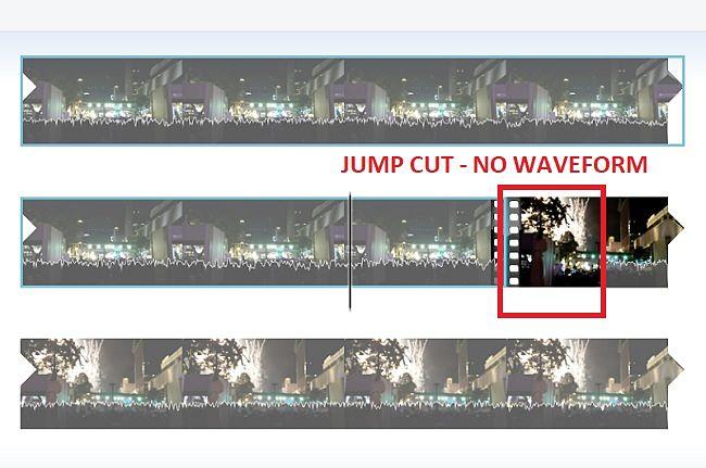 Windows        Movie Maker-Eliminar cortes de salto