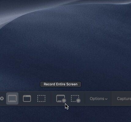 Cómo grabar tu pantalla en una Mac