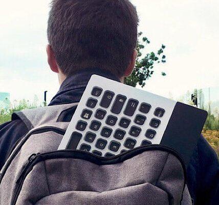 CES 2019: obtenga temas personalizados con el teclado Nemeio E Ink