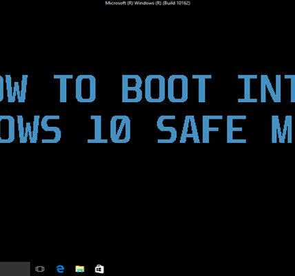 Cómo empezar de forma segura en Windows diez