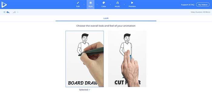 renderforest-whiteboard-choose-style