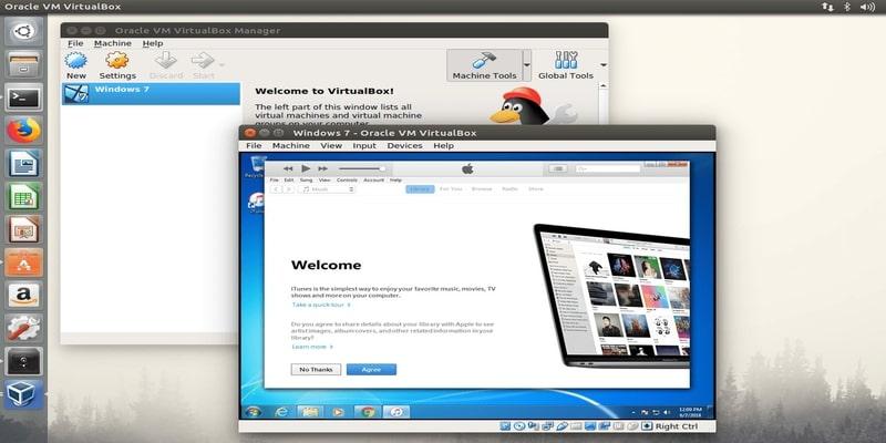 reproducir-apple-music-linux-virtualbox