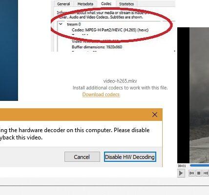 Cómo reproducir videos H.265 con su reproductor multimedia favorito