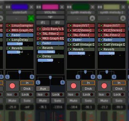 6 de las mejores aplicaciones para crear y grabar música en Linux