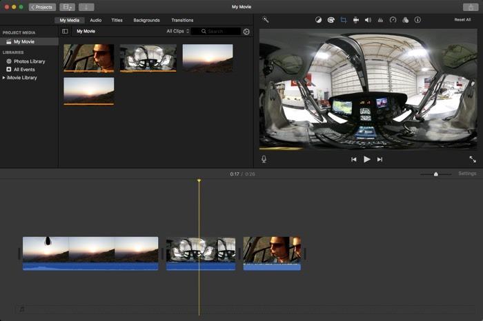 La mejor aplicación de transmisión de video Imovie Mac1