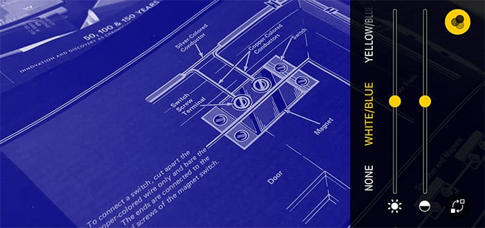 Filtro de lupa con útiles widgets para el centro de control