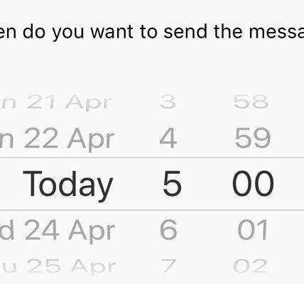 Cómo programar SMS en iPhone