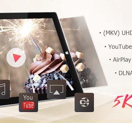 Obtenga video UHD y espejo DLNA con 5KPlayer