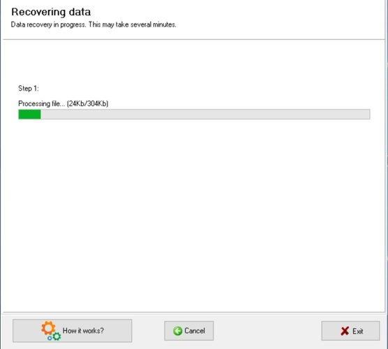 Caja de herramientas de recuperación de revisión de Coreldraw