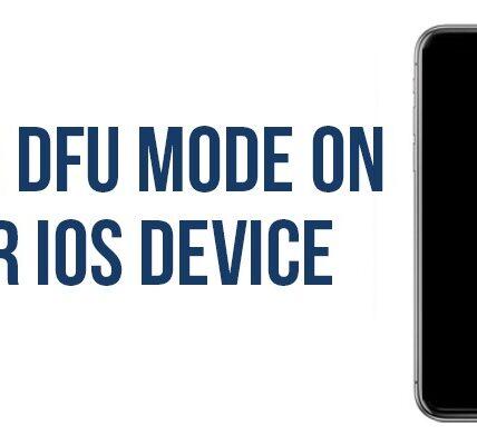 Cómo poner su iPhone / iPad en modo DFU para la recuperación