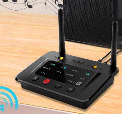 Conecte sus auriculares favoritos a dispositivos de audio con 1Mii B03Pro
