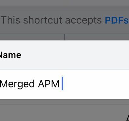 Cómo combinar varios archivos PDF en iOS