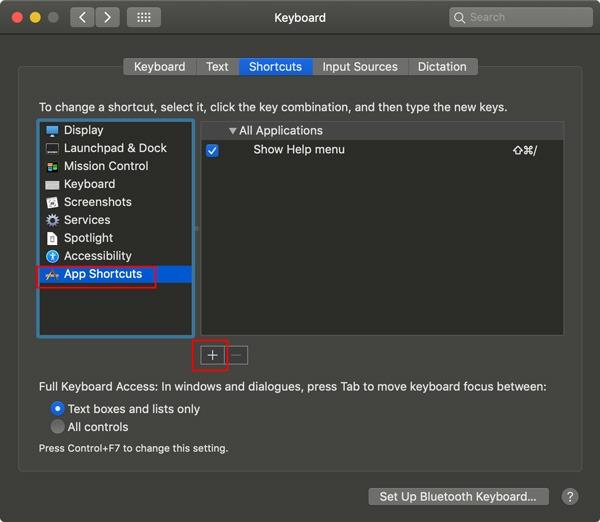 Reasignar Mac Fn Agregar teclas personalizadas