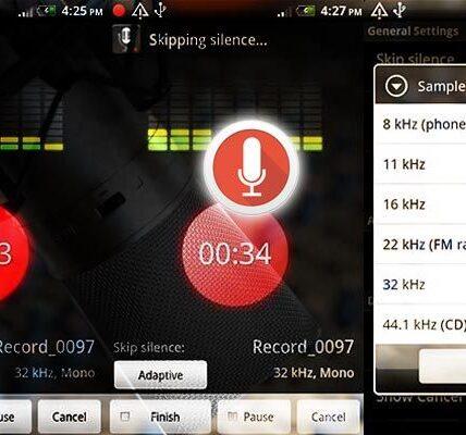5 de las mejores aplicaciones de grabación de voz para Android