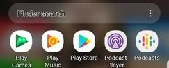 Android        Búsqueda de accesibilidad Alto contraste después