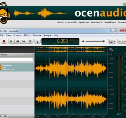 Por qué Ocenaudio es la herramienta de edición de audio multiplataforma más sencilla