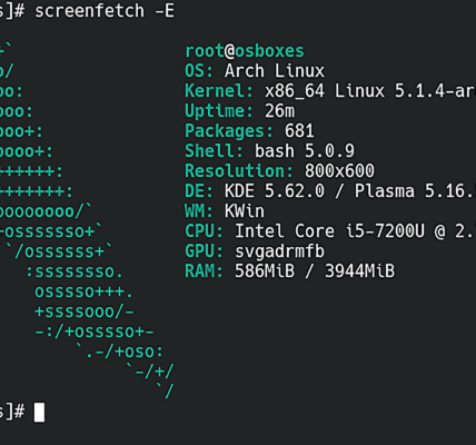 Revisión de Arch Linux (2019): minimalismo y elección