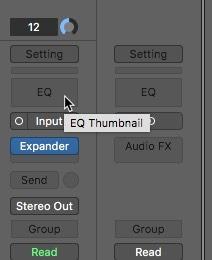 Se agregó el ecualizador Logic Pro X para eliminar el ruido
