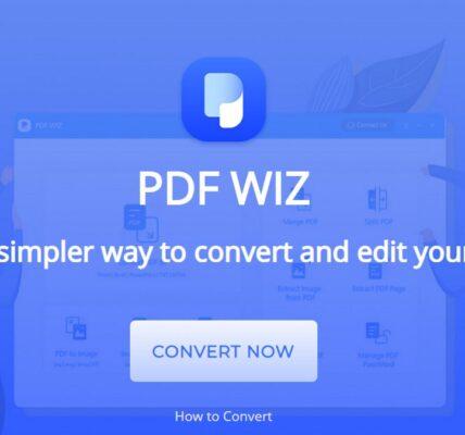 PDF WIZ: conversor de PDF fácil de usar y completamente gratuito