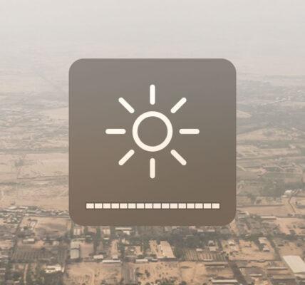 Cómo ajustar el brillo de la pantalla del terminal en macOS
