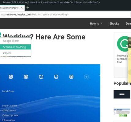 Cómo buscar algo en Google para Clipman en Linux